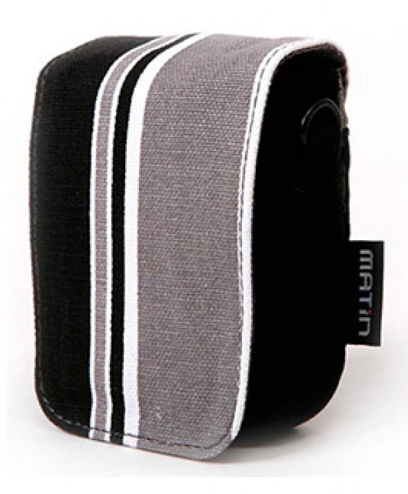 Чехол для небольшой фото или видео камеры Matin Flash-Line черно-серый