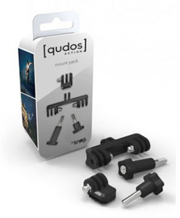 Набор креплений для экшн камер и фонаря Knog [QUDOS] MOUNT BRACKETS