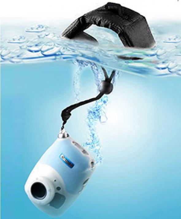 Ремешок - Поплавок на запястье для фото и видео камер черный