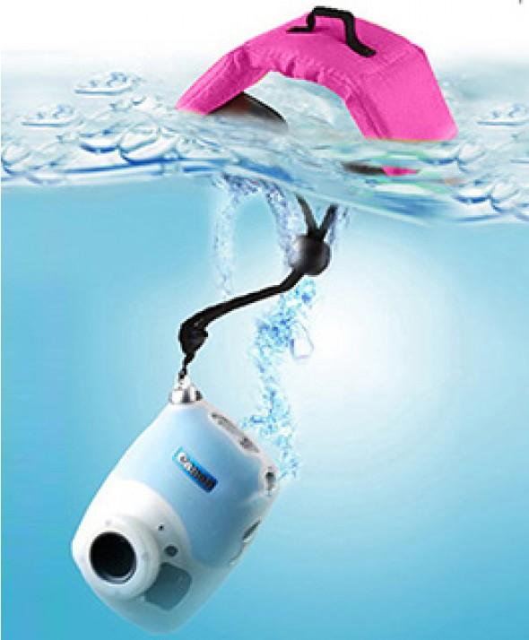 Ремешок - Поплавок на запястье для фото и видео камер фиолетовый