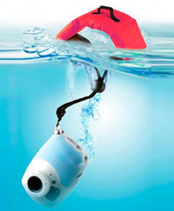 Ремешок - Поплавок на запястье для фото и видео камер красный