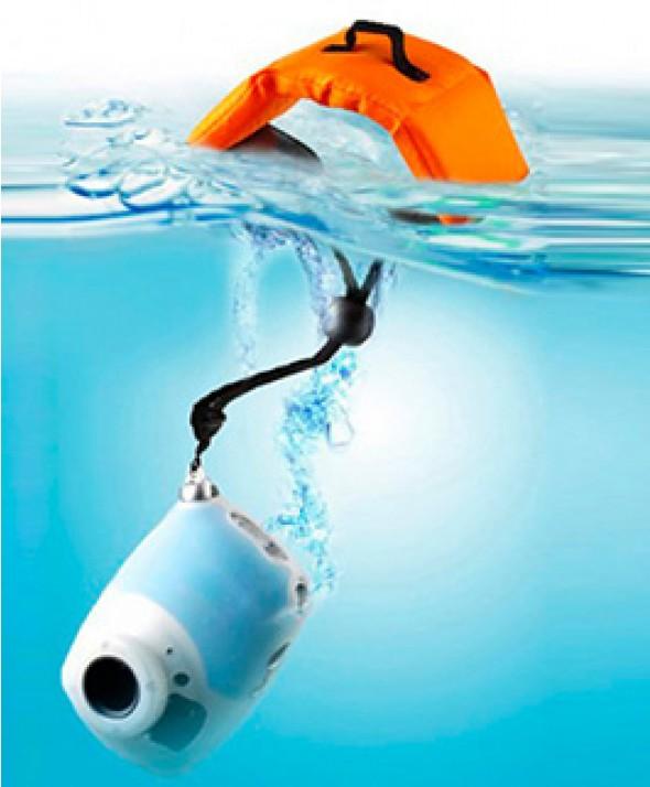 Ремешок - Поплавок на запястье для фото и видео камер оранжевый