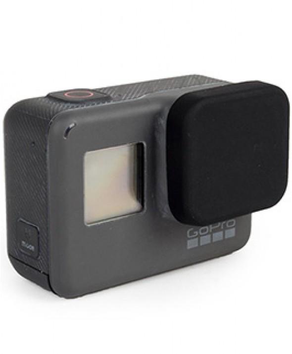Защитная силиконовая крышка на линзу камеры HERO 5 Black чёрная