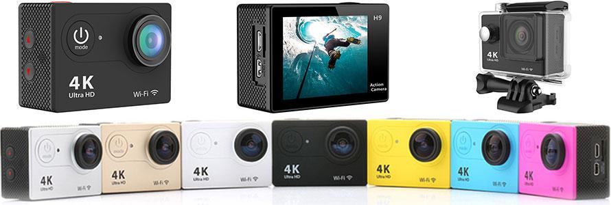 Полный обзор экшн камеры Eken H9