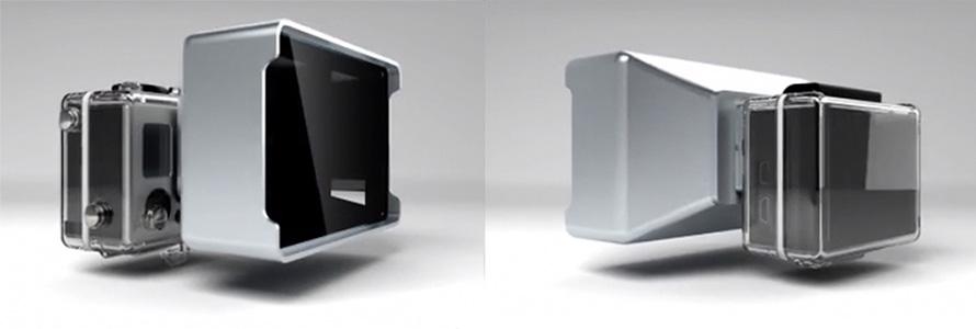 Снимаем в 3D на GoPro с Vitrima 3D