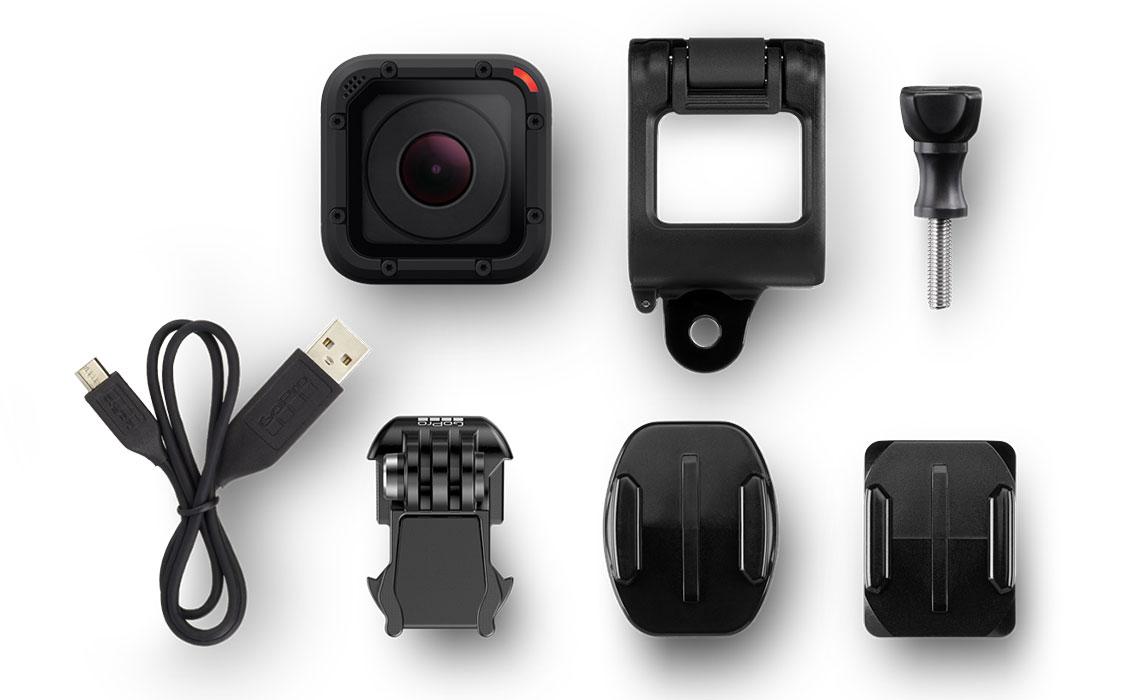 что входит в комплект экшн-камеры GoPro HERO Session