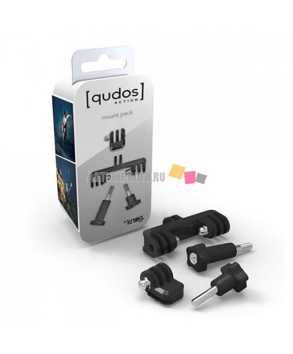 Набор креплений для GoPro и фонаря Knog [QUDOS] MOUNT BRACKETS