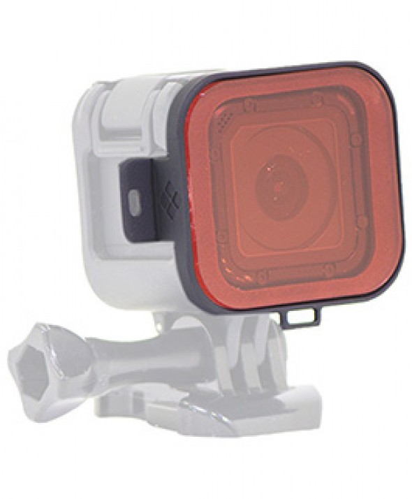 Красный фильтр GoPro Hero4 Session для снорклинга Polar Pro Red Snorkel Filter