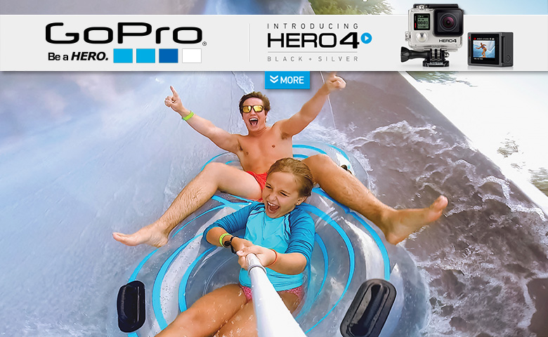 Экшн камера GoPro HERO 4 Black Edition