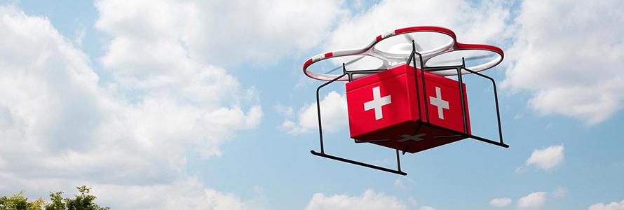 Поиск и спасение людей при помощи дронов