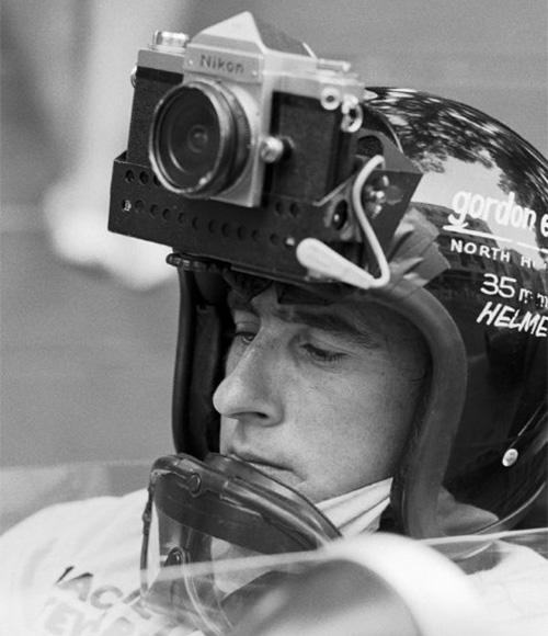 экшн камеры Формулы 1 Джэки Стюарт