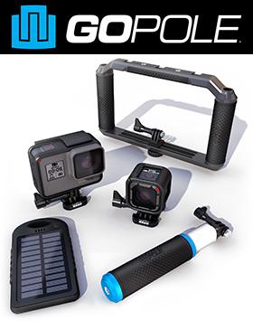 Аксессуары GoPole для GoPro