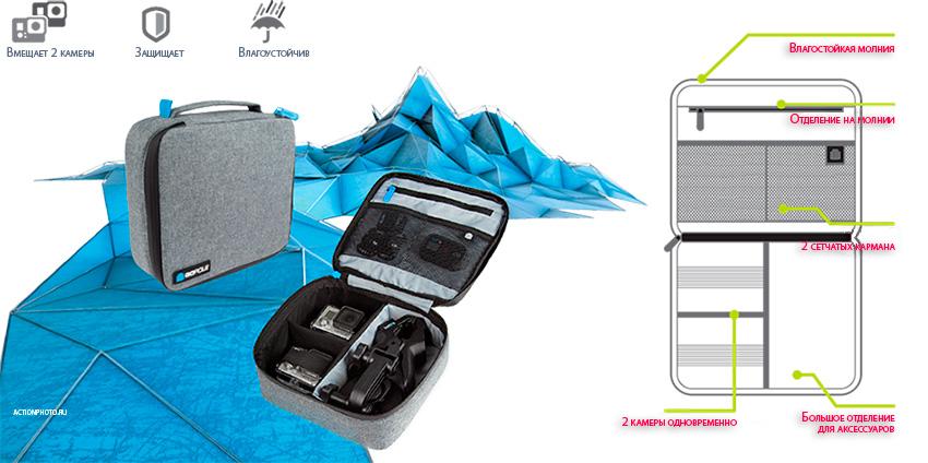 Футляр для камер GoPro GoPole Venturecase